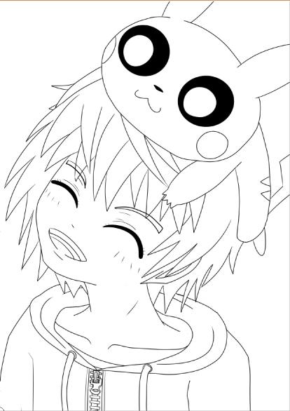 Pokémon : Un dresseur et son PikachuA partir de la galerie : MangasArtiste : Jim