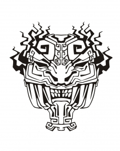 coloriage-adulte-masque-inspiration-inca-maya-azteque-4 free to print