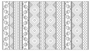 coloriage-adulte-motifs-mayas-incas-azteques free to print