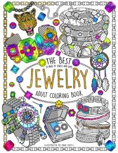 coloriage-livre-bijoux-couverture free to print