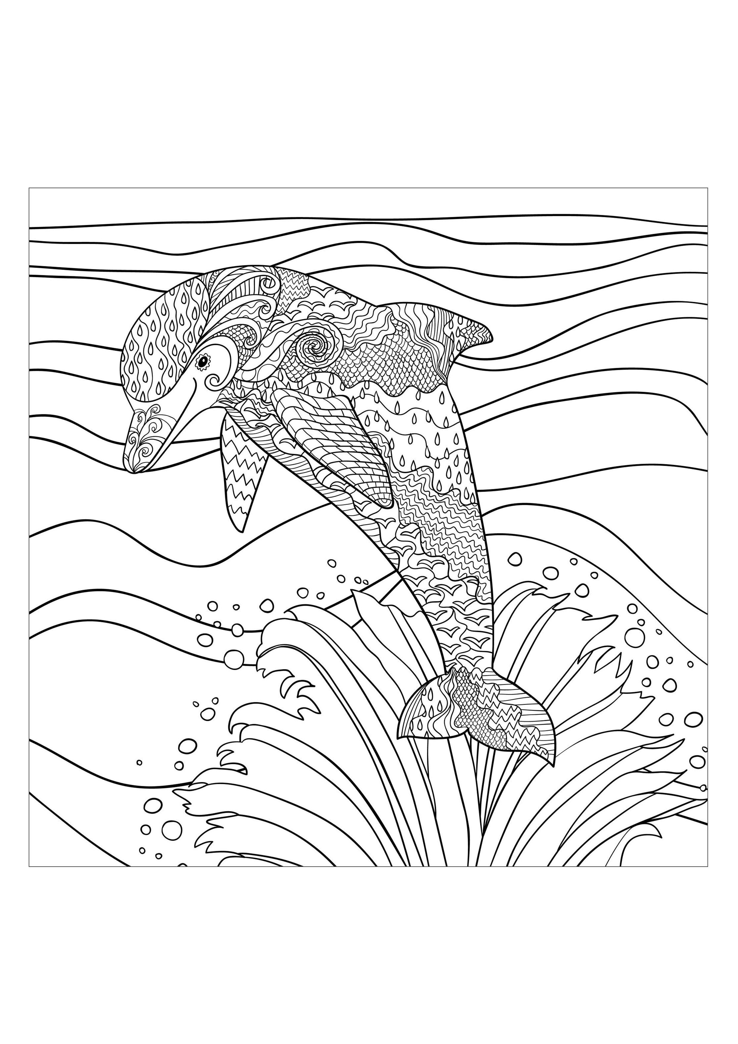 L'ami aquatique de l'hommeA partir de la galerie : Mondes AquatiquesArtiste : Anna Lezhepekova