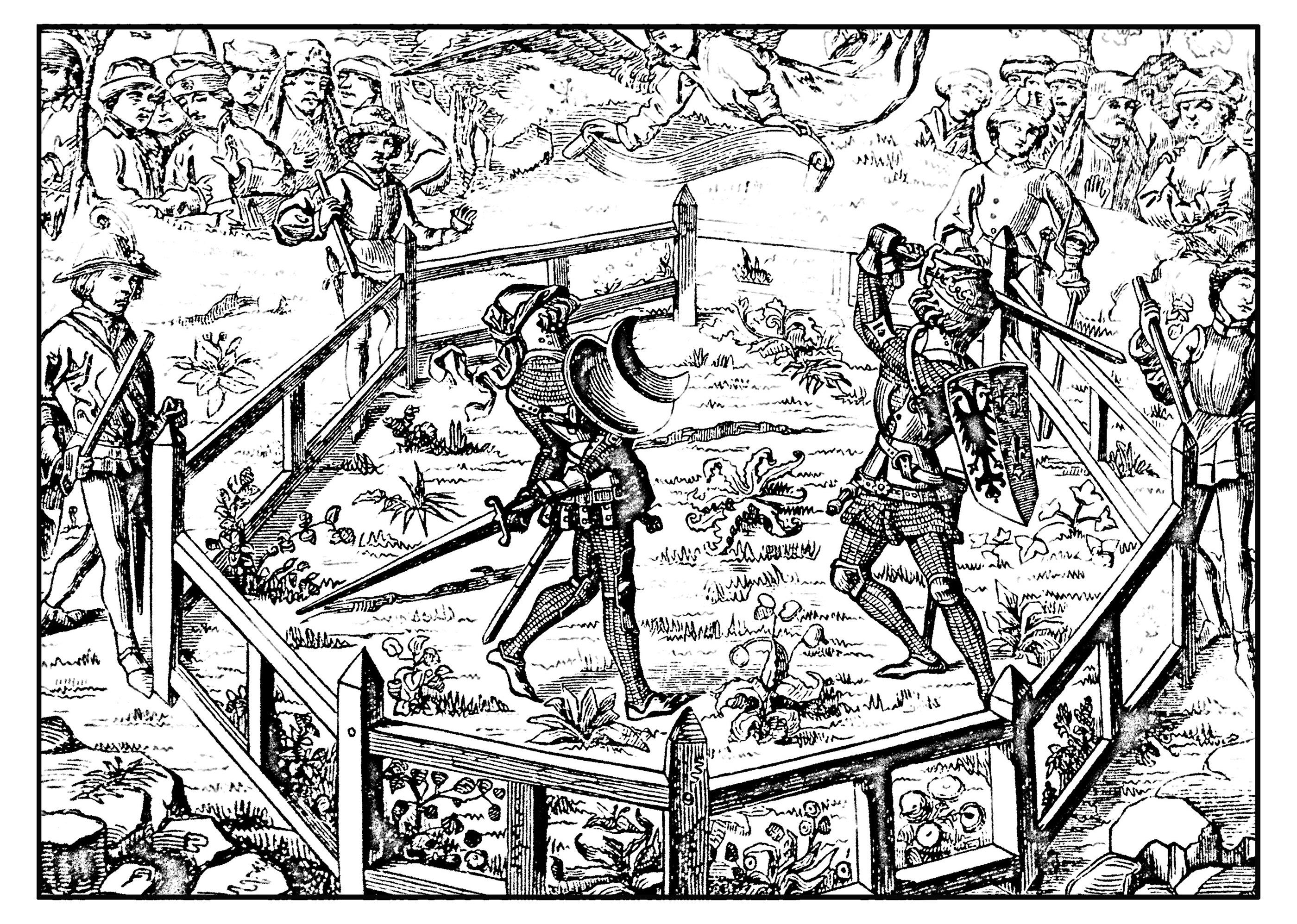 Tournoi de chevalier au Moyen ÂgeA partir de la galerie : Moyen Age