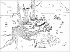 coloriage-league-of-legends-teemo free to print