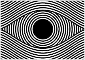 Illusion optique carres art optique coloriages - Coloriage illusion d optique ...