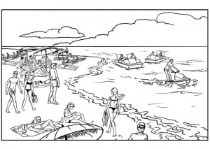 coloriage-paysage-a-colorier-1 free to print