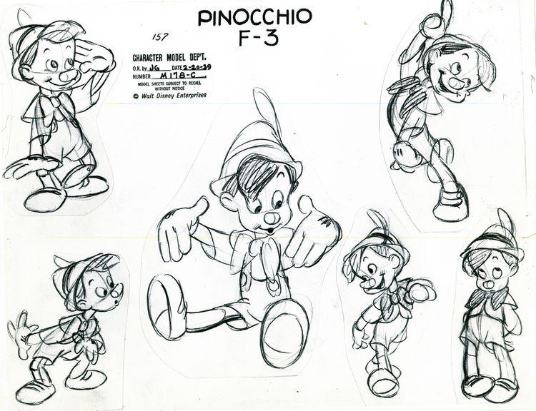 Disney croquis pinocchioA partir de la galerie : Retour En Enfance