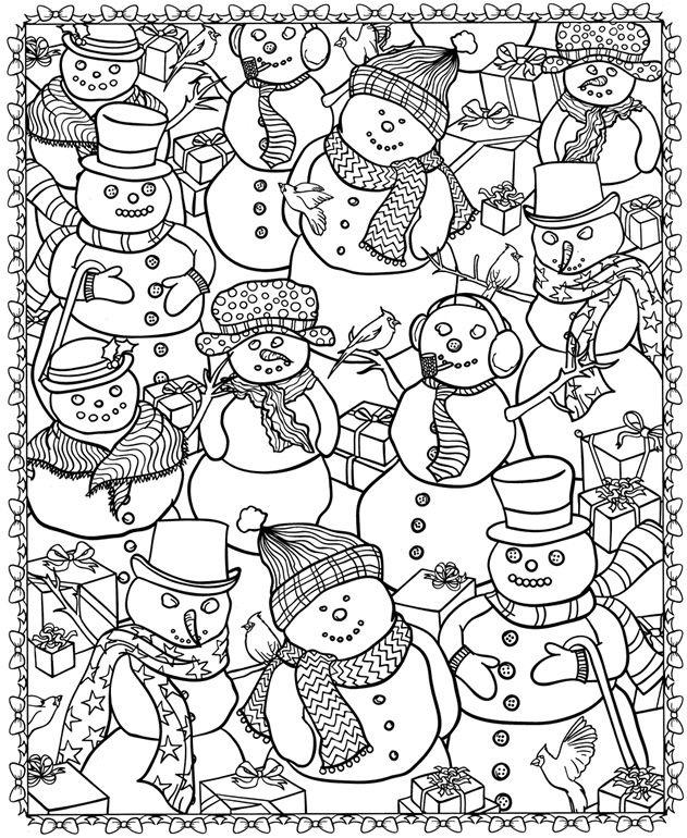 Noel bonhommes de neigeA partir de la galerie : Retour En Enfance