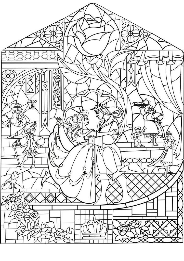 Prince princesse art nouveau styleA partir de la galerie : Retour En Enfance