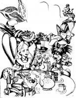 coloriage-adulte-disney-dessin-alice-pays-merveilles free to print