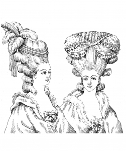 coloriage-adulte-coiffure-style-marie-antoinette-illustration-1880 free to print