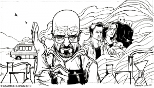 coloriage-adulte-breaking-bad-dessin free to print