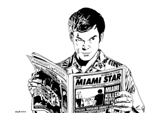 coloriage-adulte-dexter-by-roachgrace free to print