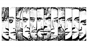 coloriage-adulte-game-of-thrones-visages free to print