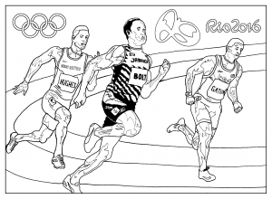coloriage-rio-2016-jeux-olympiques-athletisme free to print
