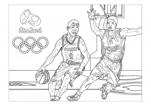 coloriage-rio-2016-jeux-olympiques-basketball free to print