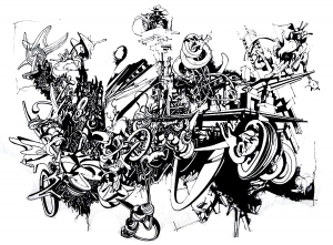 coloriage-adulte-graffiti free to print