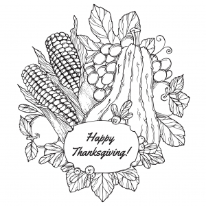coloriage-thanksgiving-fruits-par-frauleinfreya free to print