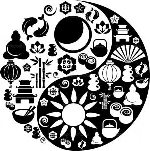 coloriage_yin_yang_motifs free to print