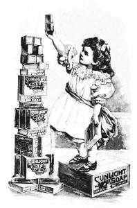 coloriage-adulte-dessin-fille-savons-vintage-a-imprimer free to print