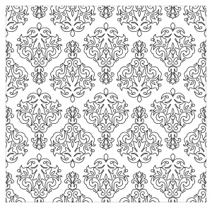 coloriage-motifs-vintage-par-kostins free to print