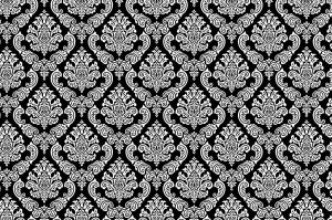 coloriage-papier-peint-retro free to print