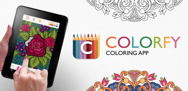 Discover Colorfy : an App for Coloring Book for Ipad, tablets ...
