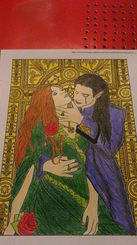 Creation par sabrina, coloriage de la galerie Mythes et légendes