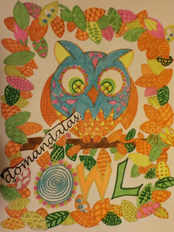 Creation par domandalas3, coloriage de la galerie Halloween