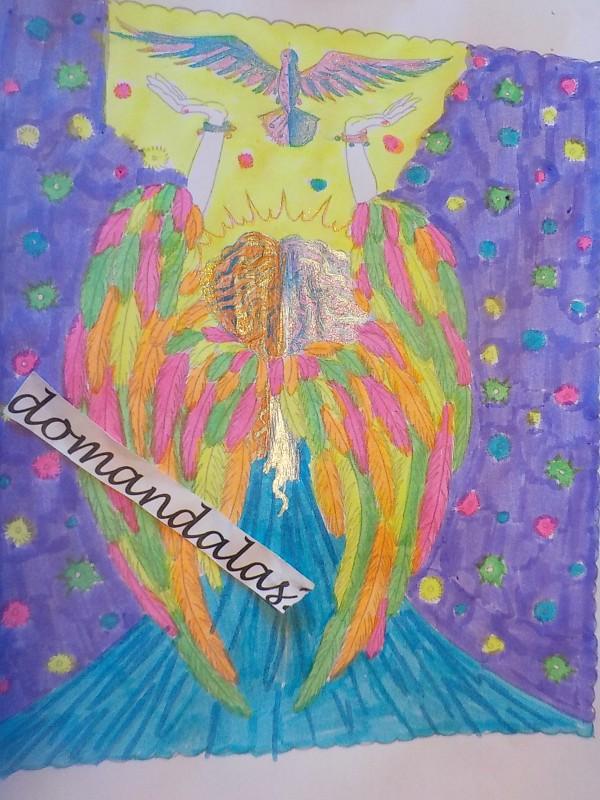 Creation par domandalas3, coloriage de la galerie Anti-stress / Zen