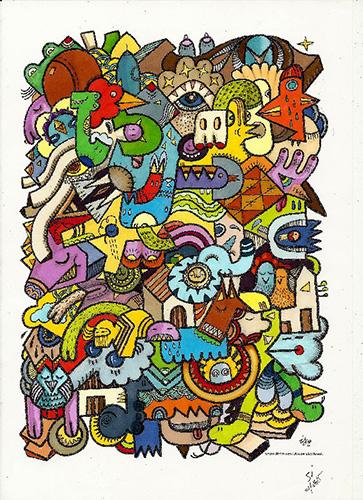 doodling-doodles-gribouillage