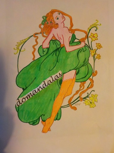 coloriage-vintage